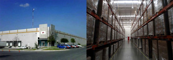75,000 sq. ft. warehouse in Monterrey, Mexico