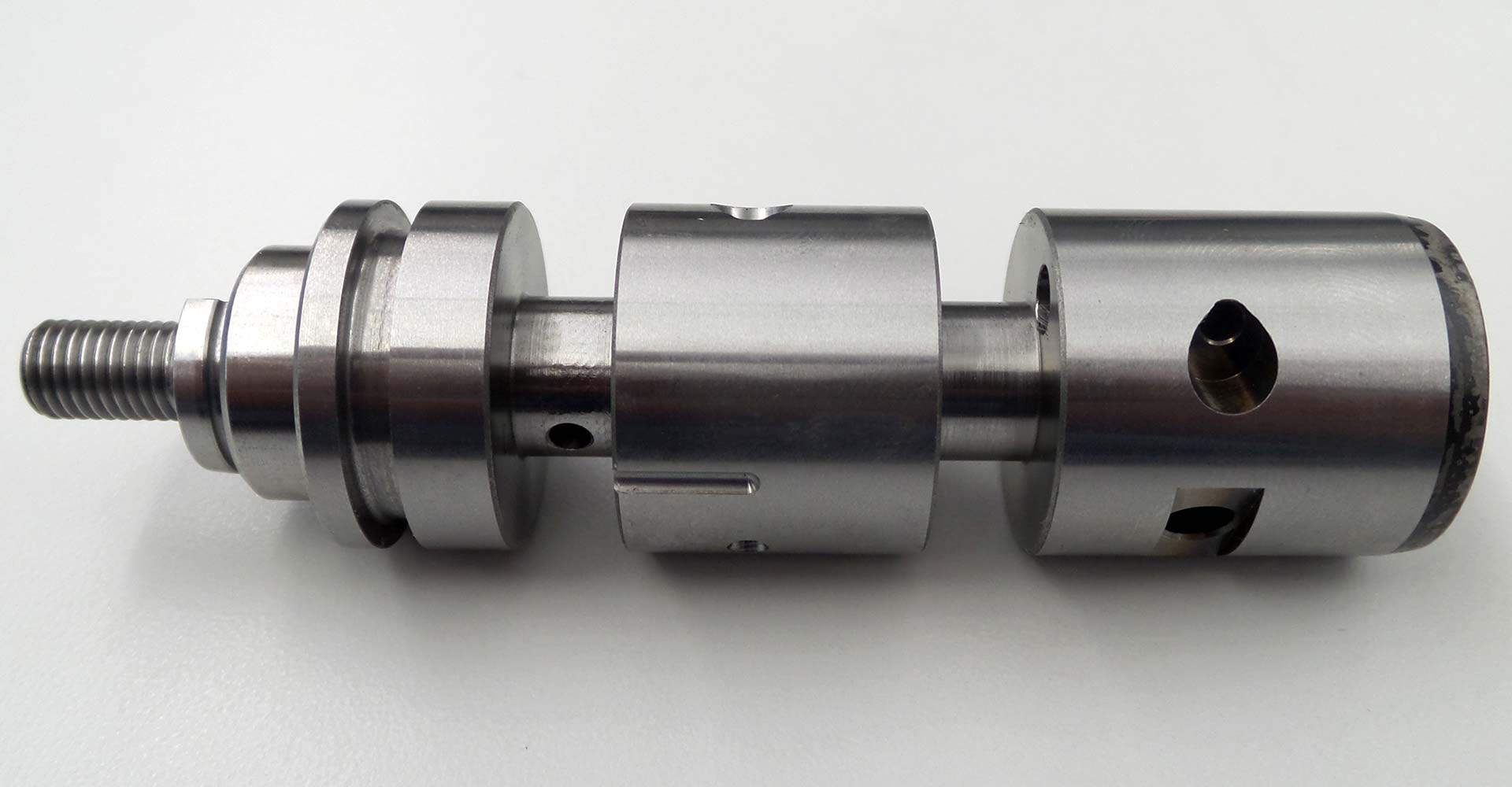 Steel control valve
