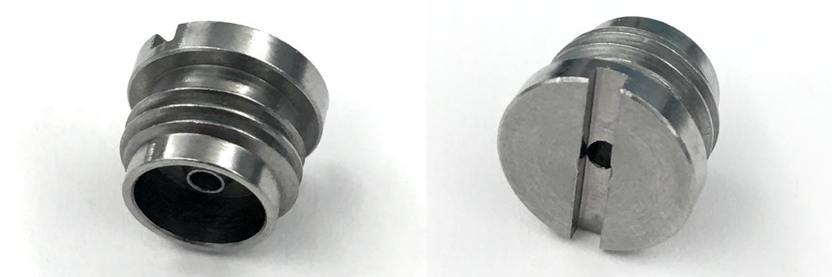 Aluminum valve insert